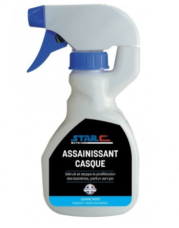 Assainissant casque: spray...